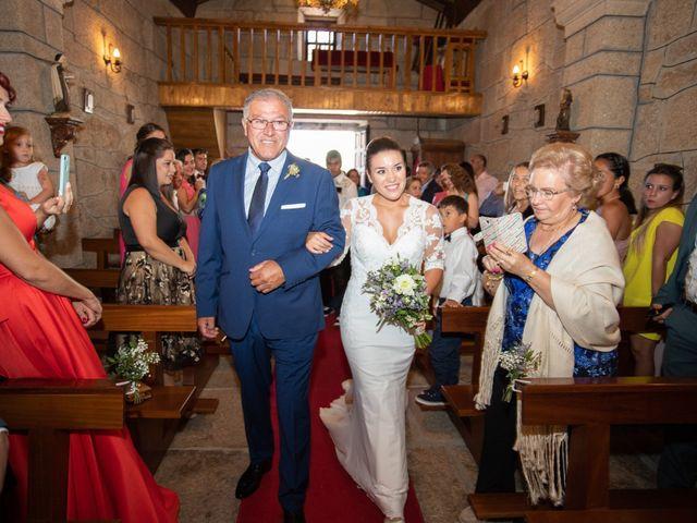 La boda de Miguel y Ivon en Allariz, Orense 57