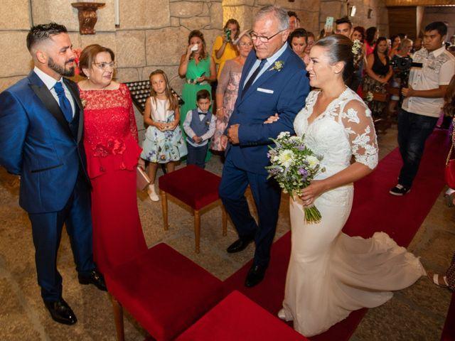 La boda de Miguel y Ivon en Allariz, Orense 59