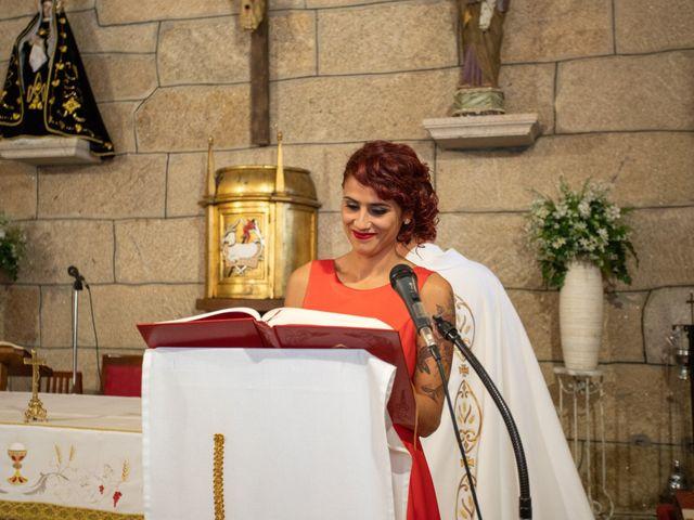 La boda de Miguel y Ivon en Allariz, Orense 81