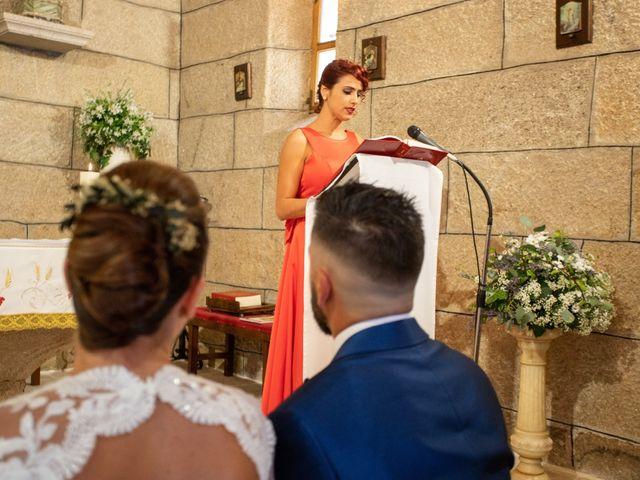 La boda de Miguel y Ivon en Allariz, Orense 84