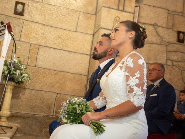 La boda de Miguel y Ivon en Allariz, Orense 86