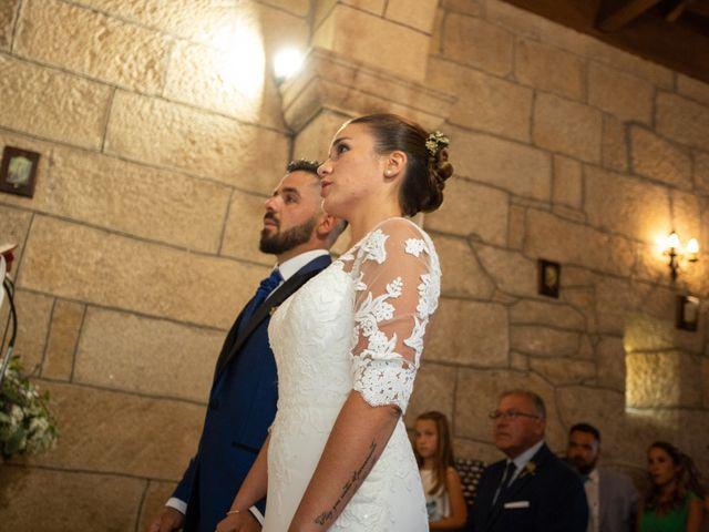 La boda de Miguel y Ivon en Allariz, Orense 87