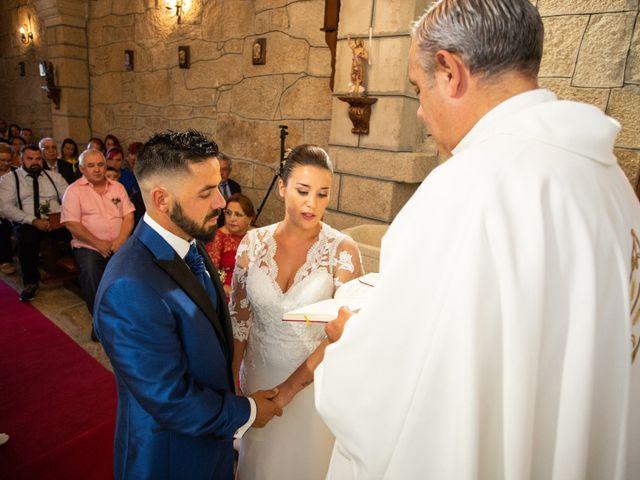 La boda de Miguel y Ivon en Allariz, Orense 91
