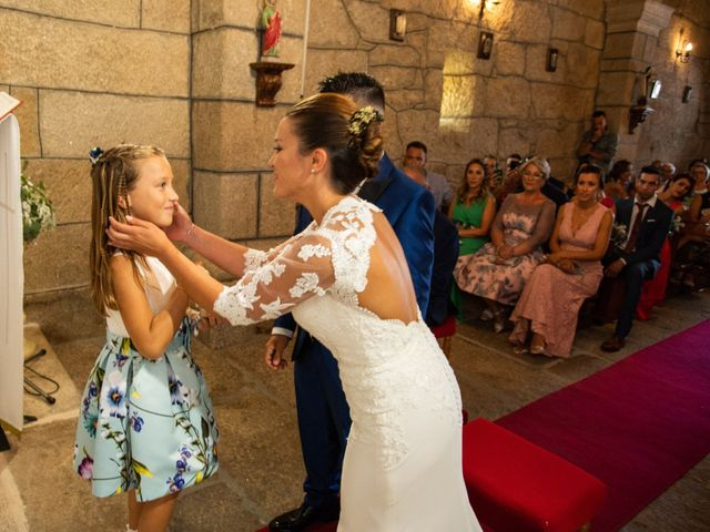 La boda de Miguel y Ivon en Allariz, Orense 93