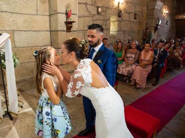 La boda de Miguel y Ivon en Allariz, Orense 94
