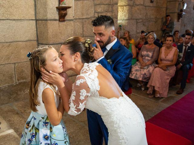 La boda de Miguel y Ivon en Allariz, Orense 95
