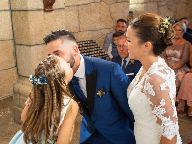 La boda de Miguel y Ivon en Allariz, Orense 96