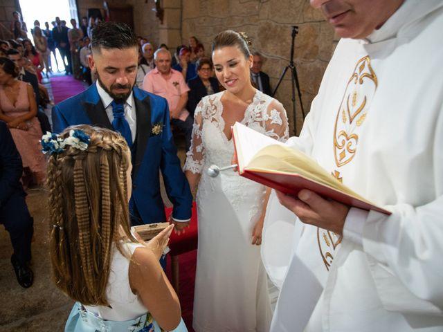 La boda de Miguel y Ivon en Allariz, Orense 98