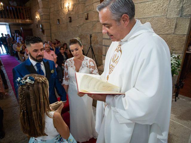 La boda de Miguel y Ivon en Allariz, Orense 99