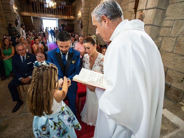 La boda de Miguel y Ivon en Allariz, Orense 113