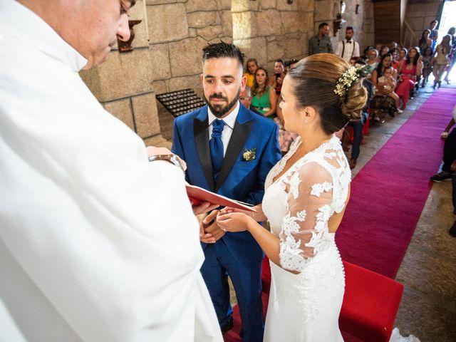La boda de Miguel y Ivon en Allariz, Orense 118