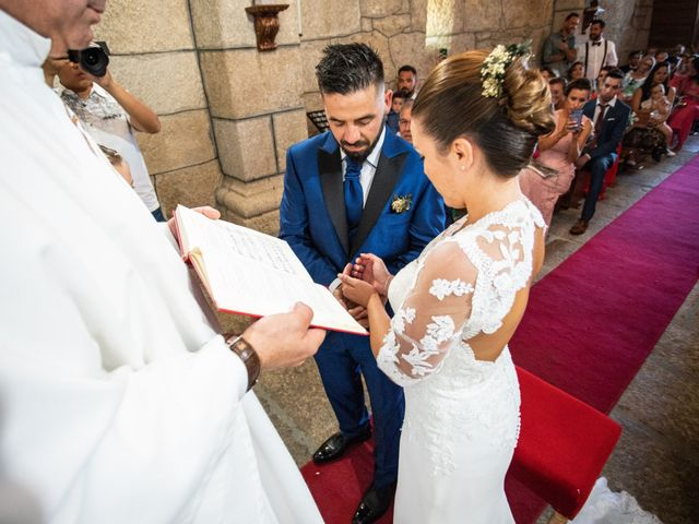 La boda de Miguel y Ivon en Allariz, Orense 119