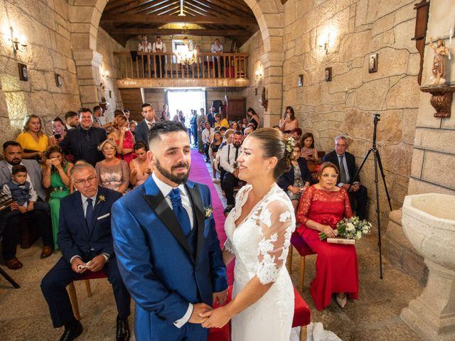 La boda de Miguel y Ivon en Allariz, Orense 125