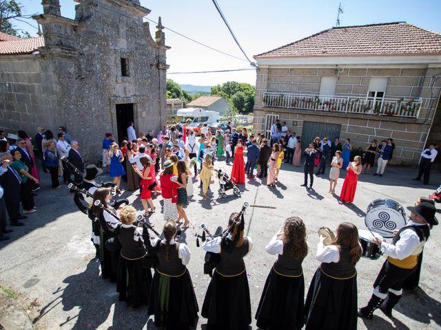 La boda de Miguel y Ivon en Allariz, Orense 130