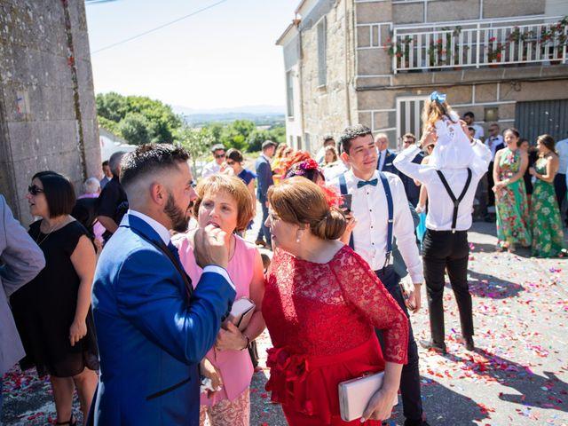 La boda de Miguel y Ivon en Allariz, Orense 131