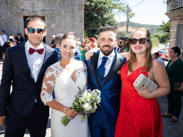 La boda de Miguel y Ivon en Allariz, Orense 132