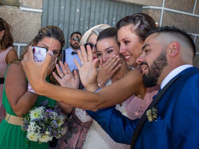 La boda de Miguel y Ivon en Allariz, Orense 135