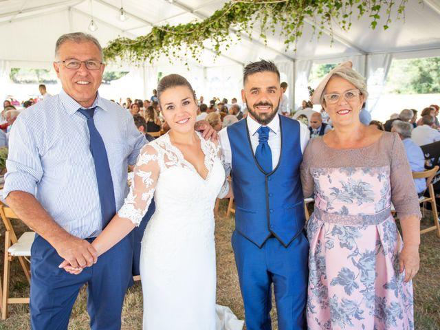 La boda de Miguel y Ivon en Allariz, Orense 171