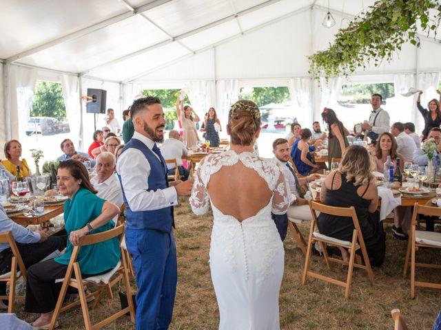 La boda de Miguel y Ivon en Allariz, Orense 176