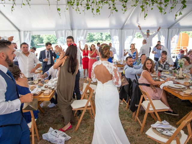 La boda de Miguel y Ivon en Allariz, Orense 177