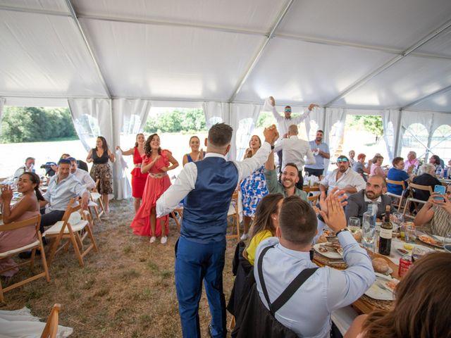 La boda de Miguel y Ivon en Allariz, Orense 178