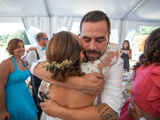 La boda de Miguel y Ivon en Allariz, Orense 208