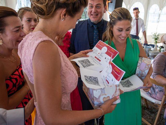 La boda de Miguel y Ivon en Allariz, Orense 215