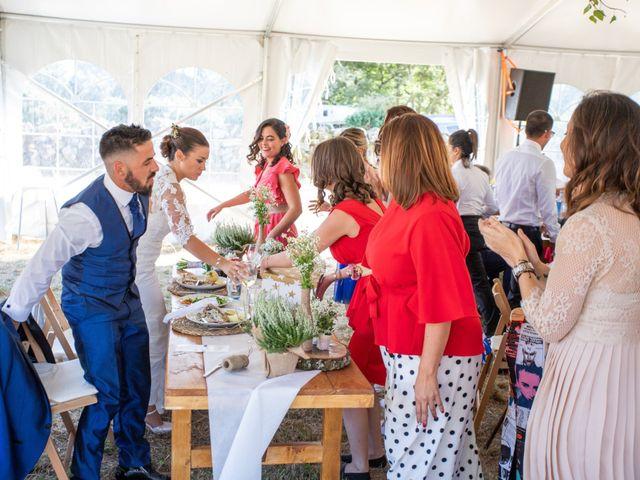 La boda de Miguel y Ivon en Allariz, Orense 226