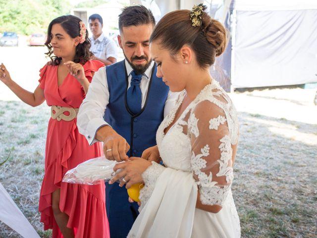 La boda de Miguel y Ivon en Allariz, Orense 231