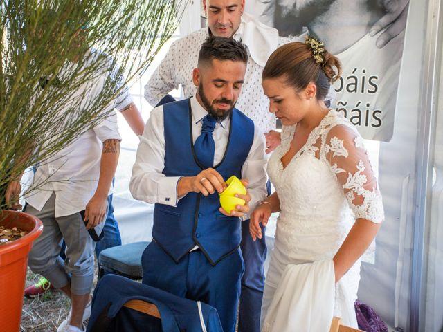 La boda de Miguel y Ivon en Allariz, Orense 238