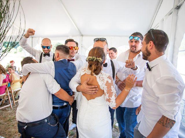 La boda de Miguel y Ivon en Allariz, Orense 240