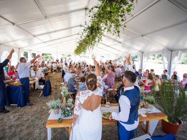 La boda de Miguel y Ivon en Allariz, Orense 243