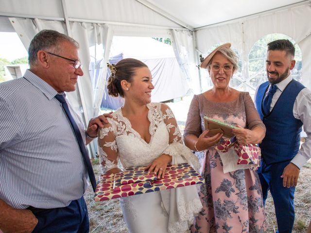 La boda de Miguel y Ivon en Allariz, Orense 254