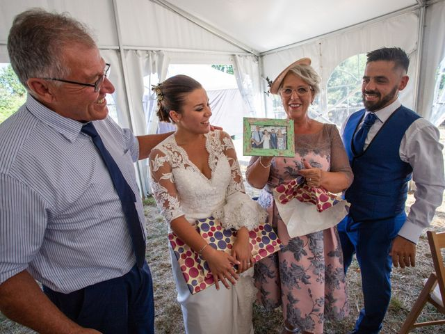 La boda de Miguel y Ivon en Allariz, Orense 257