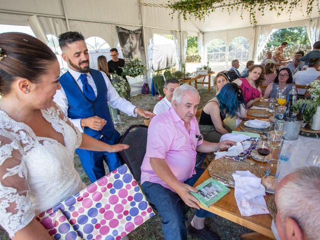 La boda de Miguel y Ivon en Allariz, Orense 261