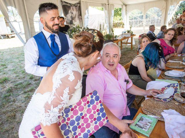 La boda de Miguel y Ivon en Allariz, Orense 262