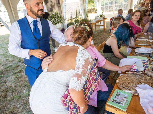 La boda de Miguel y Ivon en Allariz, Orense 263