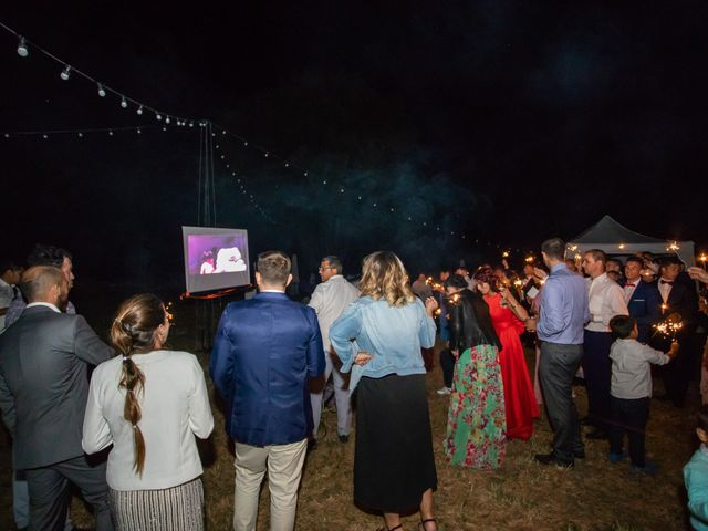 La boda de Miguel y Ivon en Allariz, Orense 448