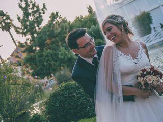La boda de Rebeca y Abel