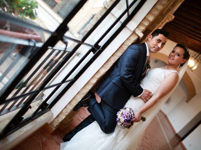 La boda de Vicente y Lorena en Trigueros, Huelva 11