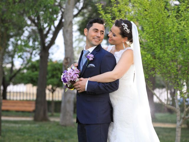 La boda de Vicente y Lorena en Trigueros, Huelva 13