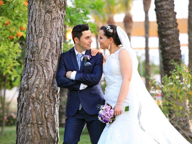 La boda de Vicente y Lorena en Trigueros, Huelva 14