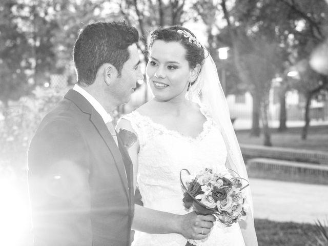 La boda de Vicente y Lorena en Trigueros, Huelva 15