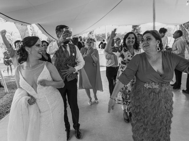 La boda de Jose y Esther en Aspe, Alicante 31