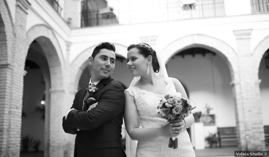 La boda de Vicente y Lorena en Trigueros, Huelva