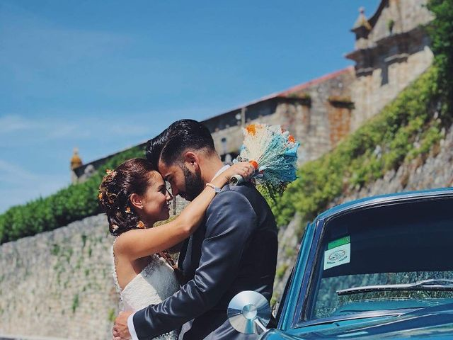 La boda de David y Vane en Oia, Pontevedra 2