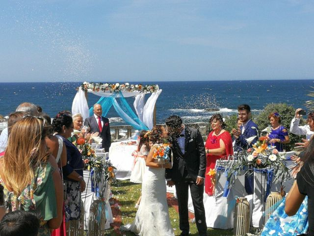 La boda de David y Vane en Oia, Pontevedra 5