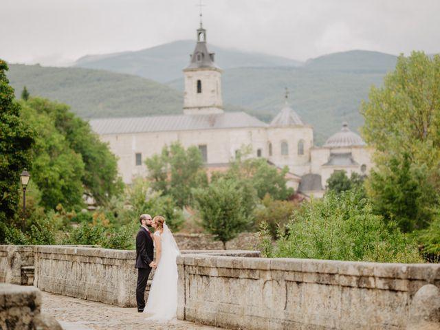 La boda de Diego y Ana en Pinilla Del Valle, Madrid 41