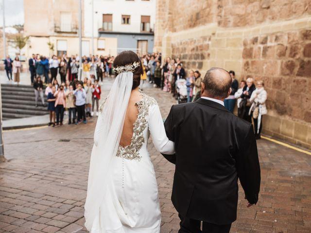 La boda de Francisco y María en Arnedo, La Rioja 19