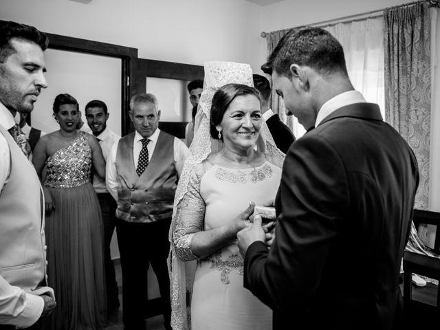 La boda de Antonio y María del Carmen en La Parra, Badajoz 19